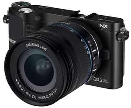 Samsung NX1000 Systemkamera Kit  20-50mm Objektiv+ Blitz für 349€ frei Haus beim dealclub