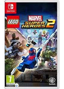 Lego Marvel Super Heroes 2 (Switch) für 19,15€ (Base.com)