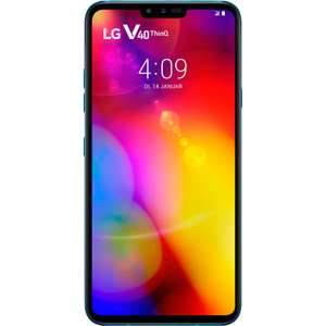 (ebay.co.uk) Mediamarkt Deutschland LG V40 128GB Thinq Dual SIM Maroccan Blue Smartphone über Ebay UK für 395,10€