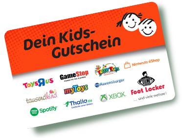 [Edeka Nordbayern / Marktkauf Nord - lokal] 10% auf Dein Kids Gutschein 25€
