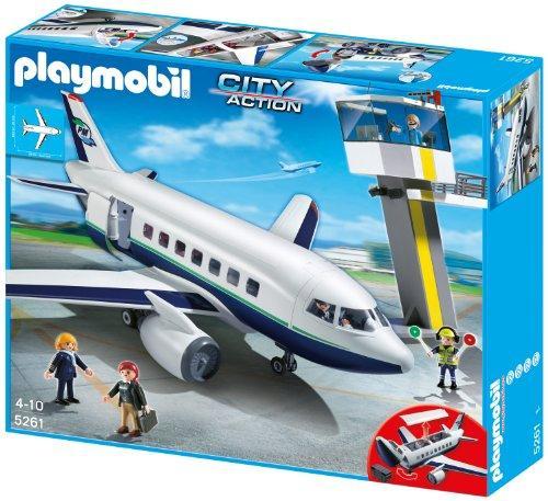PLAYMOBIL Cargo Passagierflugzeug bei Galeria kaufhof