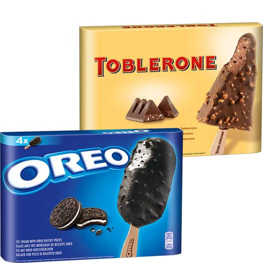 ** EIS ** Toblerone und Oreo Stieleis für nur 1,99 Euro bei ( Penny ab 17.6)