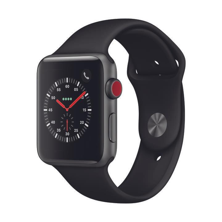 [LOKAL Interdiscount Schweiz] Apple Watch Series 3 GPS + Cellular / 42 mm / Space Gray für 223,06 Euro