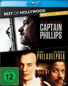 Captain Phillips & Philadelphia Best of Hollywood Collection (2 Disc Blu-ray) für 7,10€ (Amazon Prime)