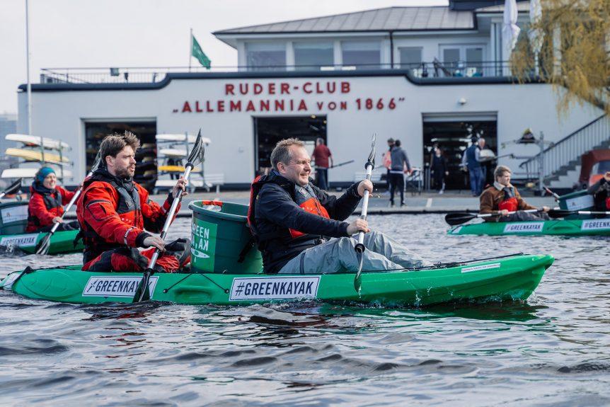 Müll sammeln und dafür kostenlos Kayak fahren [Hamburg]