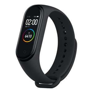 "Xiaomi Mi Band 4: Fitness Tracker - 0,95"" Amoled Farbdisplay - 24/7 Herzfrequenzmessung - 5ATM Wasserdicht 