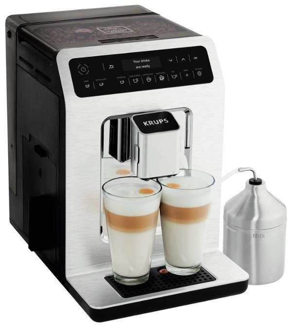 "Krups Kaffeevollautomat ""EA891C"" (One-Touch-Cappuccino, 2.1 L Wasserbehälter, 1.450 W) [computeruniverse]"