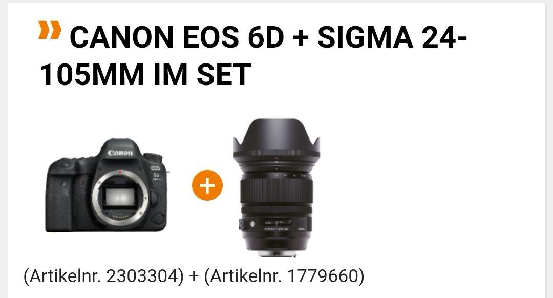 CANON 6D MARK II + Sigma 24-105 F4.0