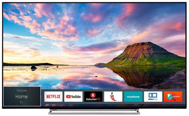 "Toshiba 65U6863DA  - 65"" 4K UHD Smart TV (Direct LED, 60Hz, Dolby Vision, 8bit+FRC, Onkyo Soundsystem inkl. Subwoofer)"