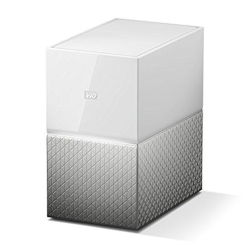 WD My Cloud Home Duo 16 TB Persönlicher Cloudspeicher - externe Festplatte 2-Bay - WLAN, USB 3.0. , WDBMUT0160JWT-EESN