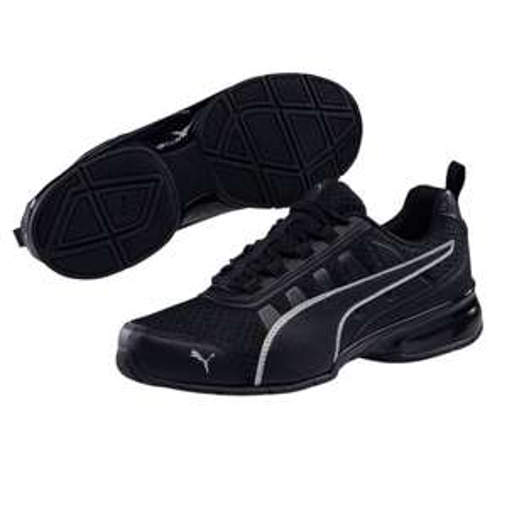 Puma Leader VT Mesh Sneaker (Gr. 40-48,5, schwarz)