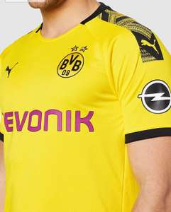 Herren BVB Home Shirt Replica Evonik with OPEL Logo Trikot
