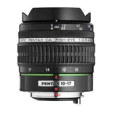 Pentax DA 10-17mm f3.5-4.5 ED IF Fisheye