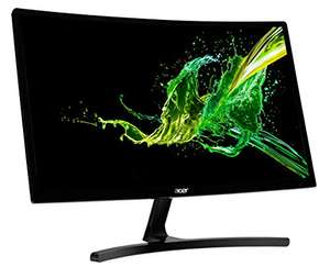 "[Amazon] Acer ED242QRAbidp 24"" 144hz Full-HD VA Panel Gaming Monitor, Curved, FreeSync + GSync Compatible"