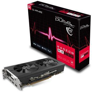 Sapphire Radeon RX 580 Pulse 8GB + Division 2 & World War Z für 168,93€