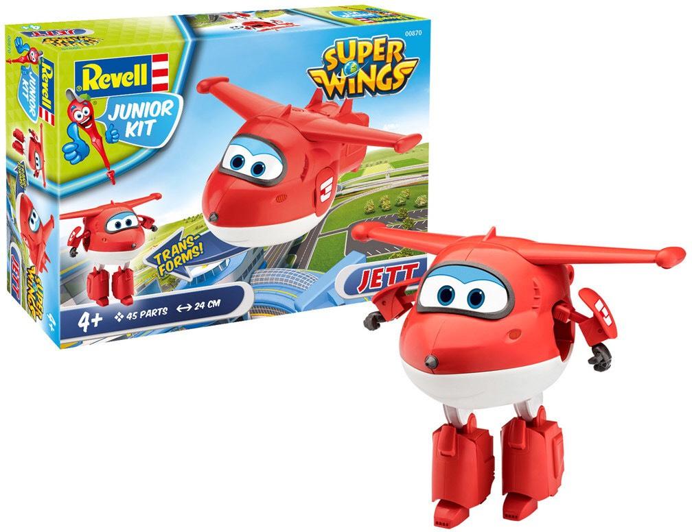Super Wings Jett (Revell Junior Kit 00870) - Prime