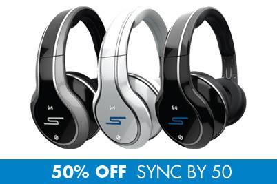 SMS Audio SYNC by 50 Wireless Over-Ear Headphones - Kopfhörer