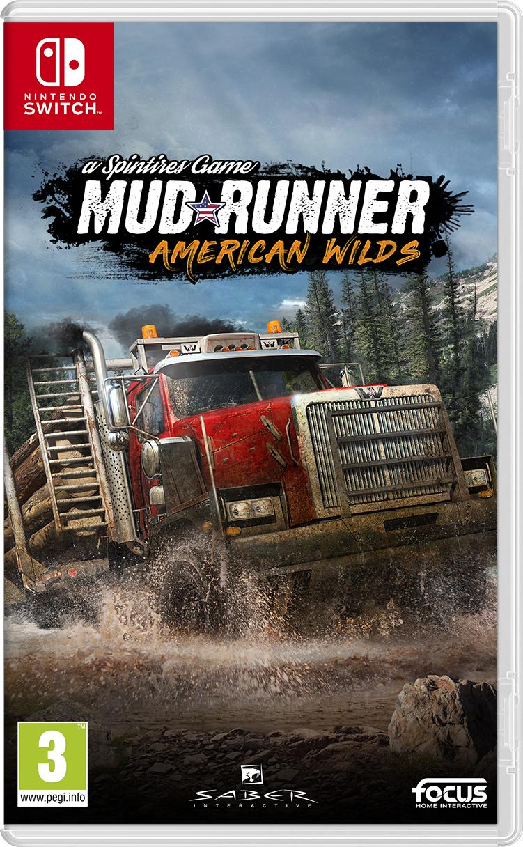 Mudrunner: a Spintires Game American Wilds Edition (Switch) für 19,50€ (Coolshop)