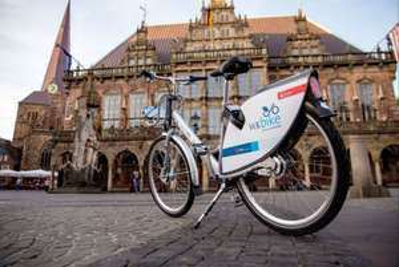 Lokal Bremen Einen Tag lang kostenlos Fahrrad fahren