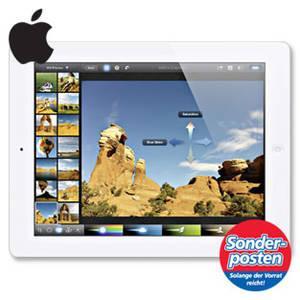 Apple iPad mit WiFi + Cellular (3G) 16 GB (3. Generation) [offline]@Real mit Personalkauf