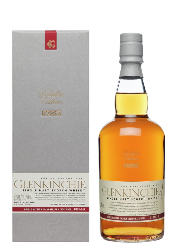 Glenkinchie Distillers Edition 2018/2006 Single Malt Whisky 0,7l 43% bei [Real.de]