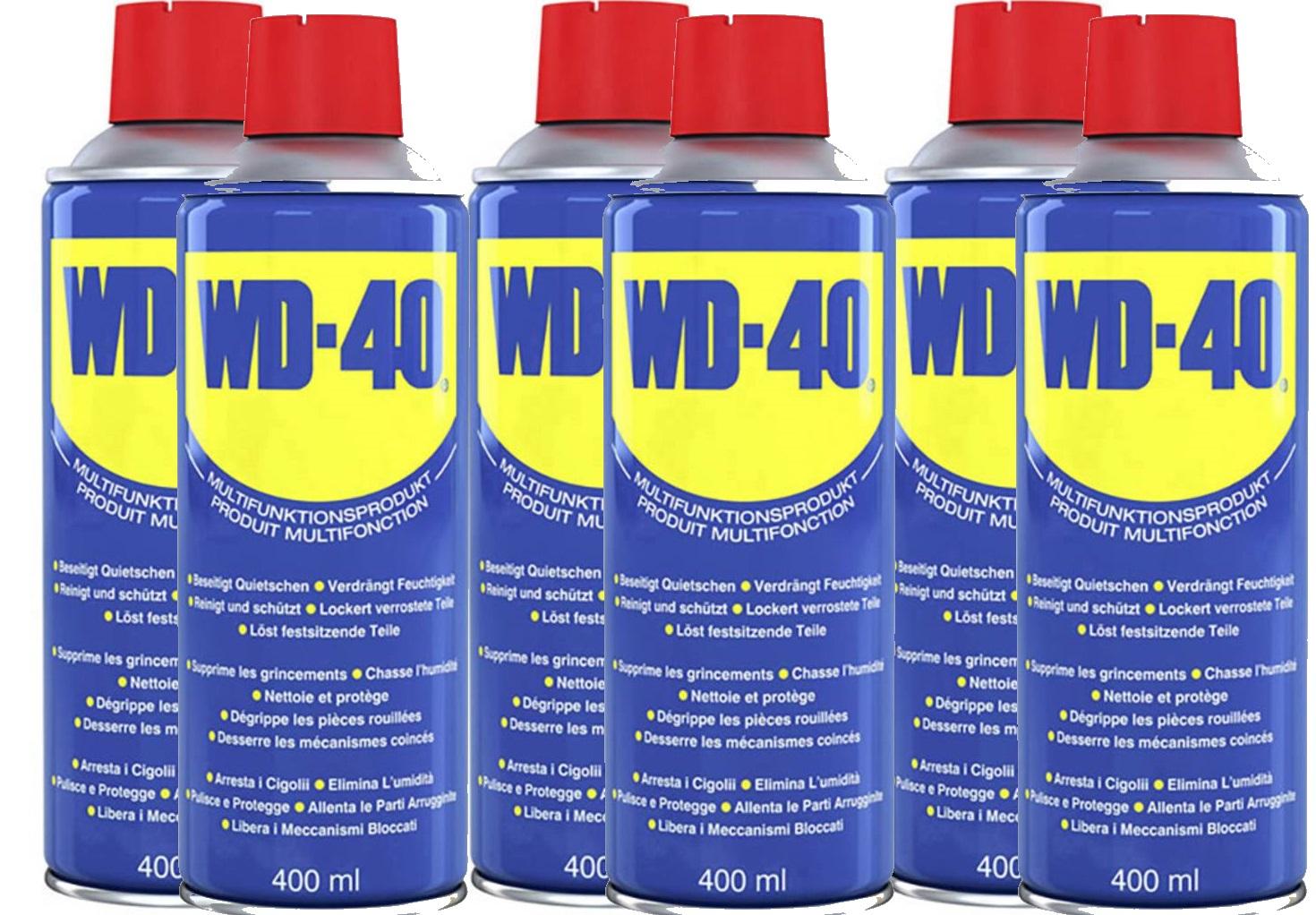 6x 400ml Wd 40 Multifunktionsöl Für 2142 Inklusive Versand 892