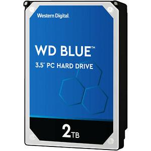 "(Saturn) WD Blue interne Festplatte 3.5"" 5400rpm  BULK  - 2TB  WD20EZRZ"