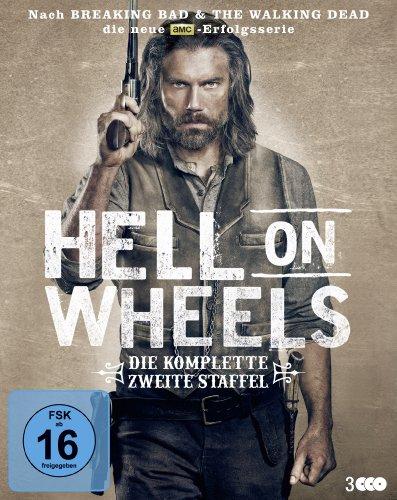 Hell on Wheels - Die komplette zweite Staffel (Blu-ray) für 3,99€ (Media Markt & Saturn)