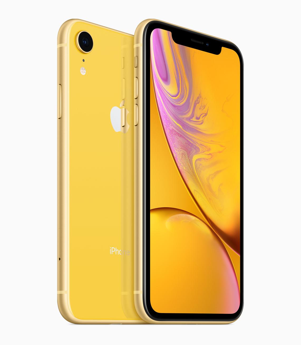 iPhone XR 128 GB in GELB
