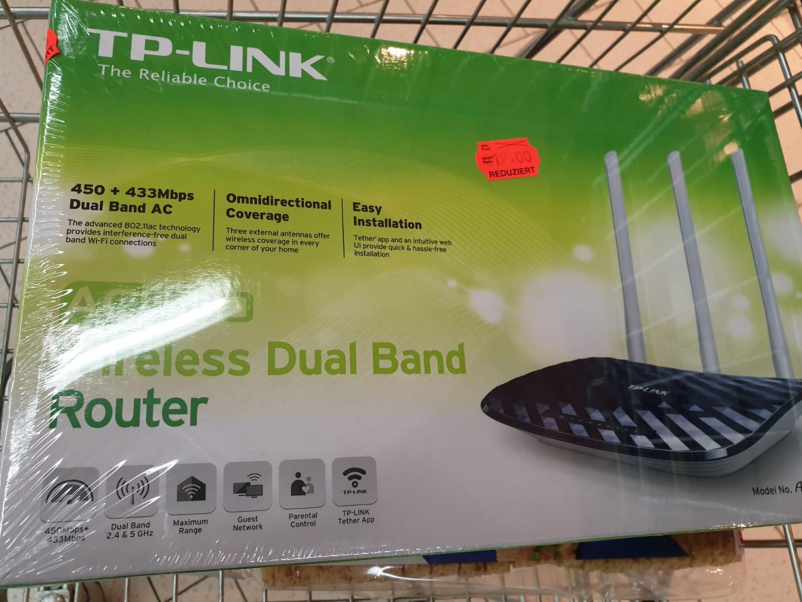 [Lokal Kaufland Coesfeld] TP Link AC900 Router Archer C20 V2