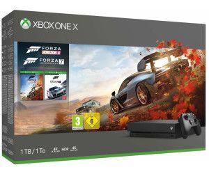 Microsoft Xbox One X1TB schwarz + Forza Horizon 4 + Forza Motorsport 7 für 323,48€ & Ps4 Pro für 331,88€ [Idealo Mediamarkt]