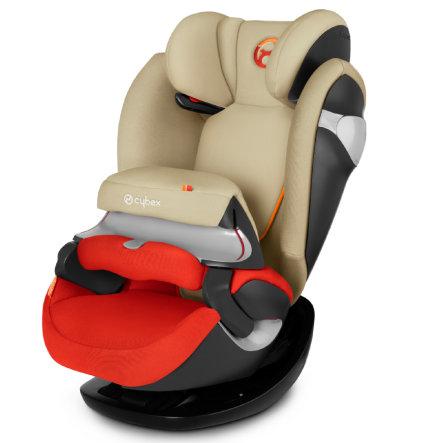 cybex Gold Pallas M Kindersitz in rot / beige für Kinder zwischen 9 und 36kg