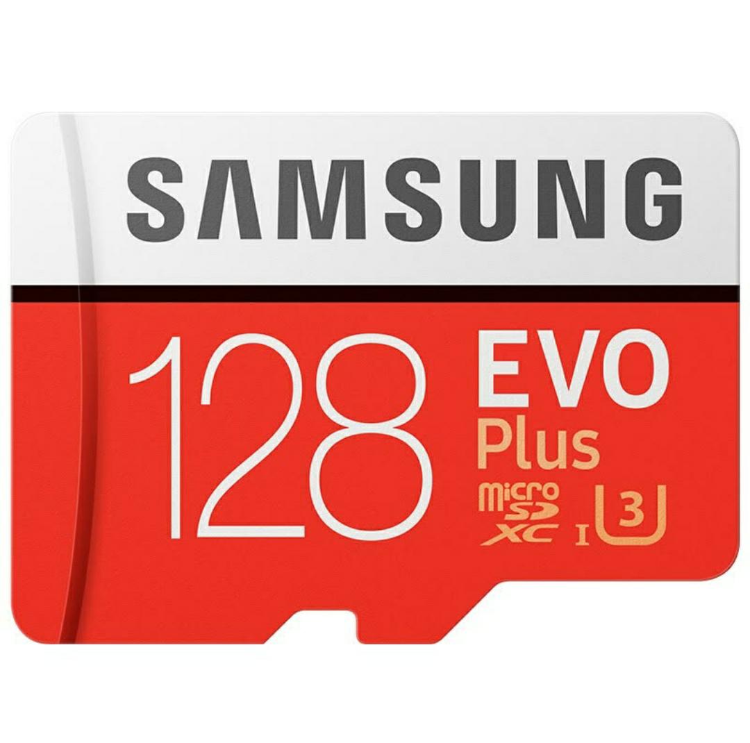Samsung Evo Plus: 128GB U3 MicroSD (Lesen: 90MB/s - Schreiben: 85MB/s)