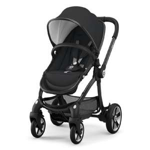 kiddy Evostar 1 Onyx Kinderwagen in schwarz