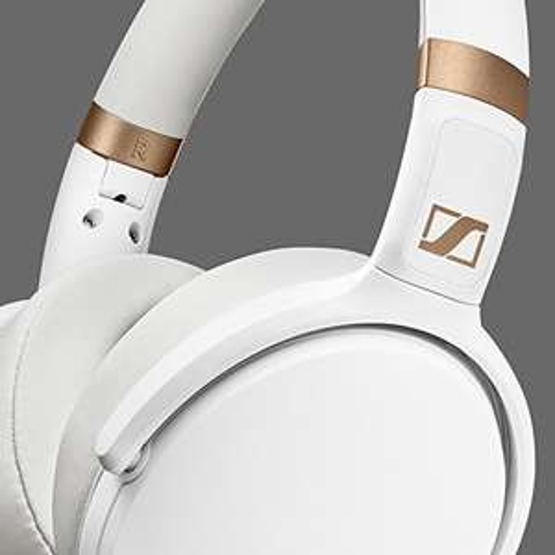 Sennheiser HD 4.30i Kopfhörer Over Ear Faltbar, Headset Weiß [Amazon.ES]