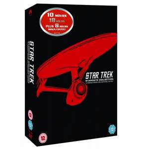 Star Trek: Stardate Collection DVD Movie 1-10