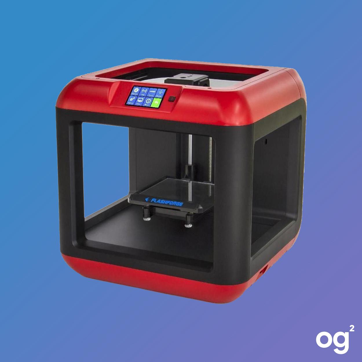 """3D-Drucker Flashforge Finder (UK-Händler, Schmelzschichtung, 140x140x140mm Druckgröße, 100-400µm Layerstärke, 0.4mm Düse, USB, WLAN, 3.5"""")"""