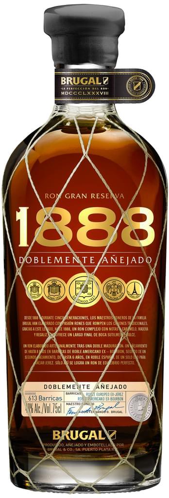 Brugal Ron 1888 Gran Reserva Familiar Rum 40% 0,7l bei [Real.de]