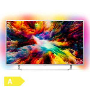 "Philips 50PUS7383 - 50"" 4K Smart TV (VA, Direct LED; 60Hz, 3seitiges Ambilight, 8bit+FRC, Android TV 8)"