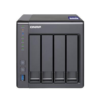 QNAP Systems TS-431X2-8G NAS 4-Bay [0/4 HDD/SSD, 1x 10GbE/2x GbE LAN, 8GB RAM]