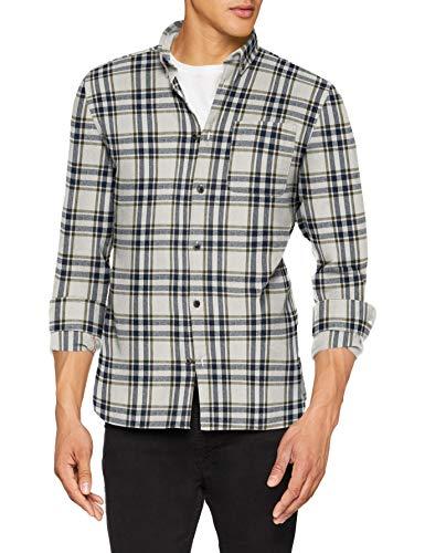 JACK & JONES Herren Jorchris Shirt Ls One Pocket Freizeithemd