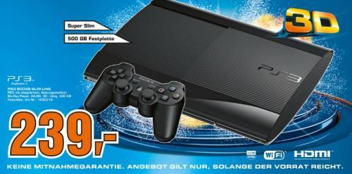 [LOKAL - Kiel] PS3 Super Slim 500GB für 239€ @Saturn