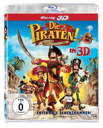 Die Piraten - Ein Haufen merkwürdiger Typen 3D (Blu-ray 3D) für 6,99€ (Amazon Prime)