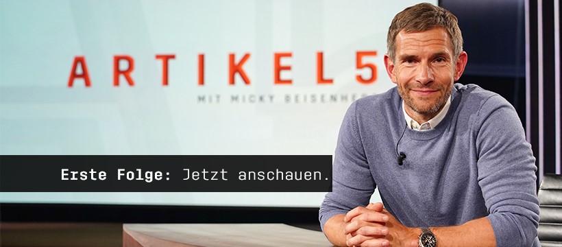 ARTIKEL 5 mit Micky Beisenherz  - Die ersten 3 Folgen umsonst anschauen (YouTube / MagentaTV)