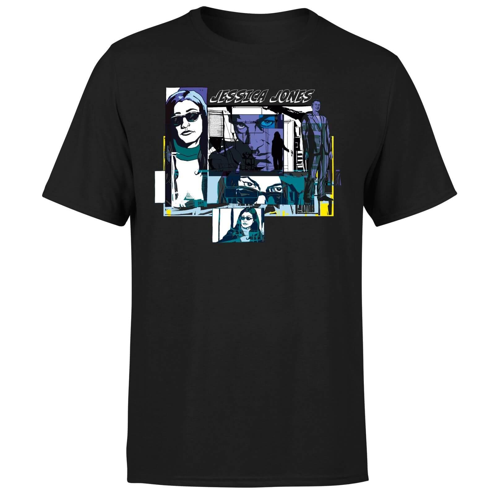 Jessica Jones T-Shirt (Schwarz & Weiß, Damen und Herren, XS bis 5XL, 100% Baumwolle)