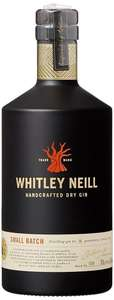 Whitley Neill Handcrafted Dry Gin 0,7l 42% bei [Real.de] mit Marktanlieferung