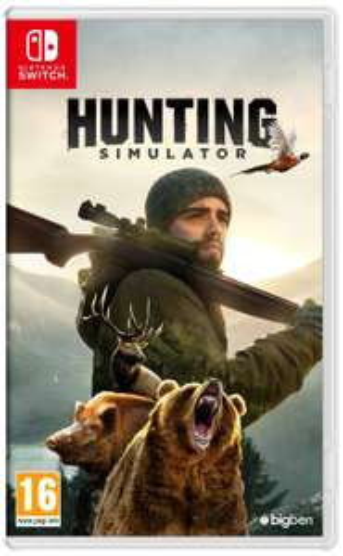 Gaming Angebote bei Amazon IT - Hunting Simulator - Nintendo Switch für 15,69€