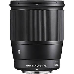 [eBay] Sigma 16mm F1.4 DC DN Contemporary Sony E