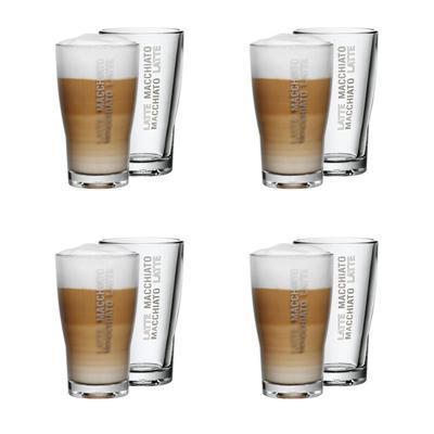 WMF Latte Macchiato Gläser 8-er Set Barista für 16,28€ inkl. Versand bei Telbay.de