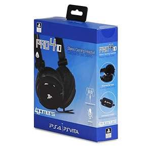 [Amazon Prime] 4Gamers PRO4-10 Stereo Gaming Headset (PS4/PS Vita)